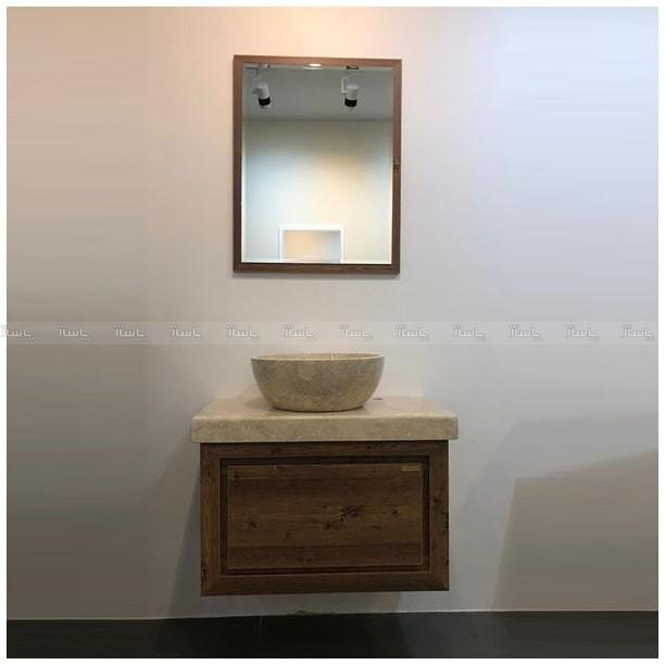 روشویی زیر سنگی چوبی کابینتی Fiurenza مدل کورینی-تصویر اصلی