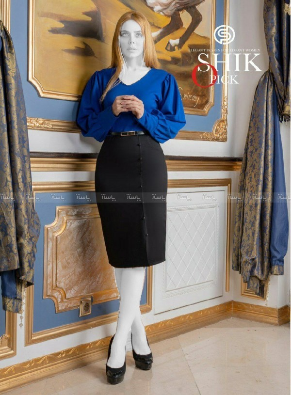 تونیک مجلسی زنانه مدل شوکا-تصویر اصلی
