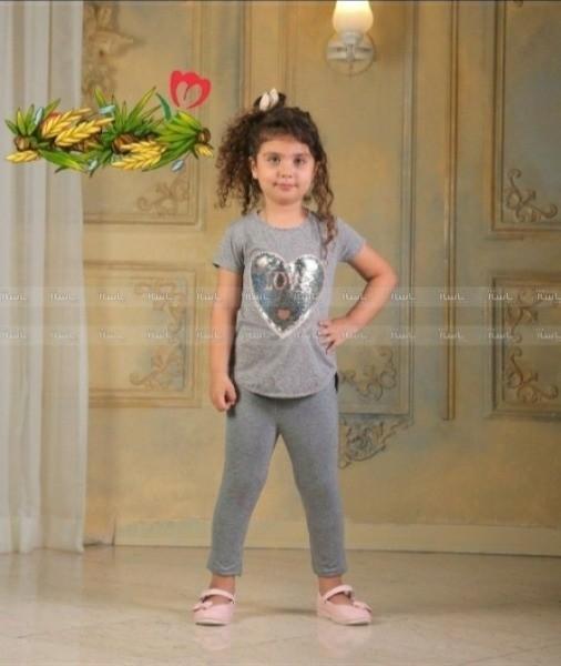 لباس ست دخترانه قلب-تصویر اصلی