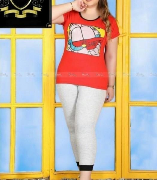 تیشرت شلوارک سایز بزرگ-تصویر اصلی
