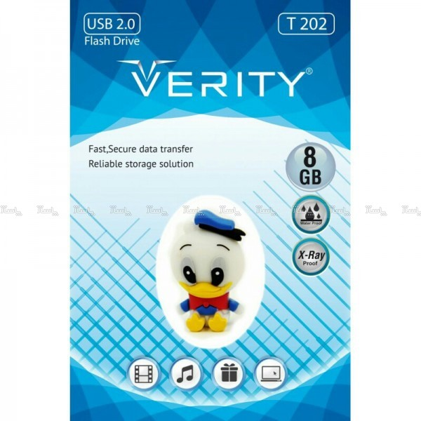 فلش عروسکی ۸ گیگ وریتی VERITY T202-تصویر اصلی