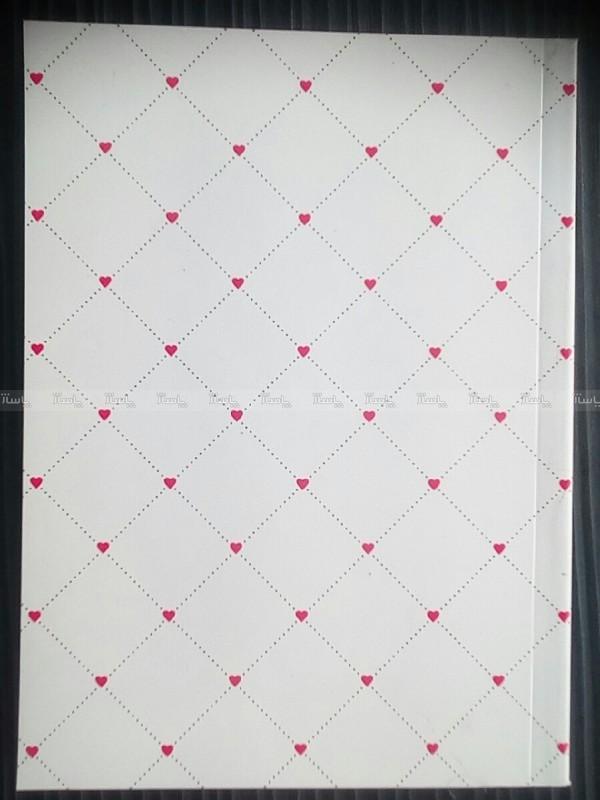 دفتر ۱۰۰ برگ ته چسب جلد گلاسه سلفون شده-تصویر اصلی