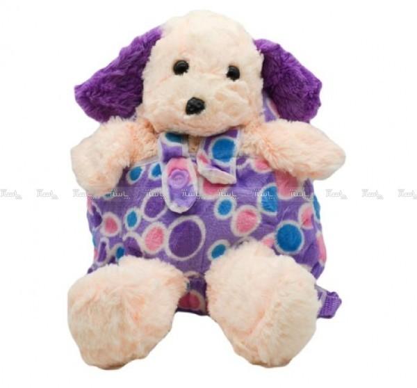 کوله پشتی عروسکی طرح سگ-تصویر اصلی
