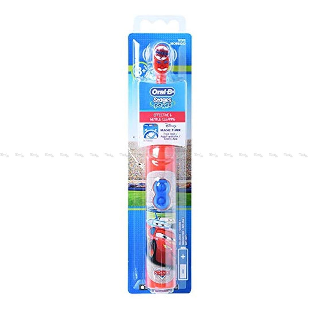 مسواک برقی کودکانه اورال بی مدل کارز Oral-B Cars-تصویر اصلی