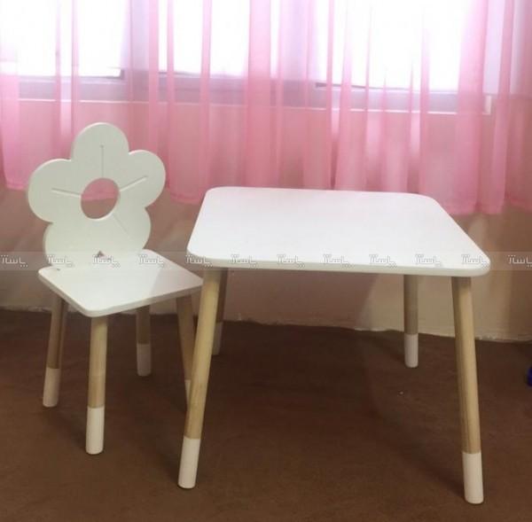 میز و صندلی گل-تصویر اصلی