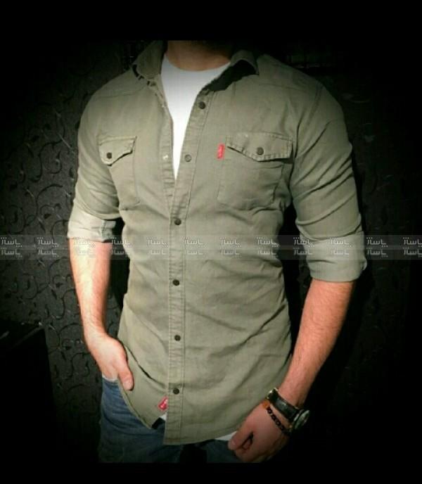 پیراهن استین بلندکتان-تصویر اصلی