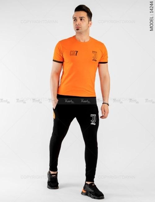 ست تیشرت و شلوار مردانه Juventus مدل 14244-تصویر اصلی