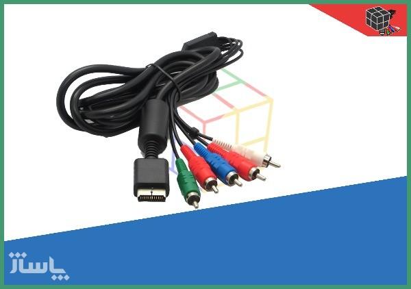 کابل 5 فیش HD برای پلی استیشن 2-تصویر اصلی