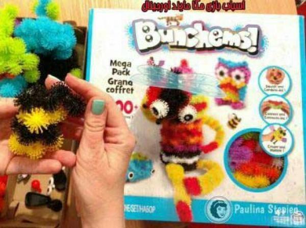 بسته ۴۰۰ عددی اسباب بازی بانچمز Bunchems-تصویر اصلی
