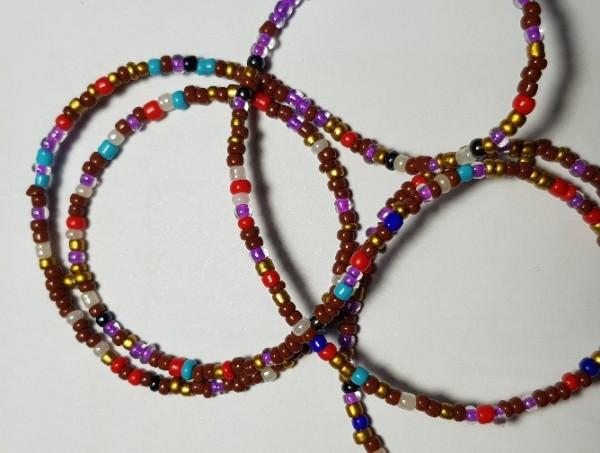 بند عینک رنگی منجوقی-تصویر اصلی