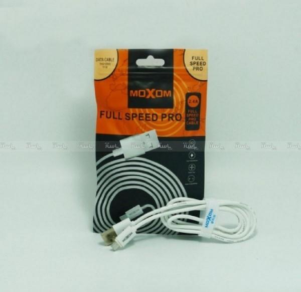 کابل شارژ micro سوپر فست moxom اورجینال-تصویر اصلی