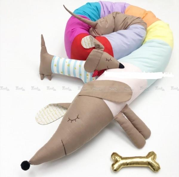 گارد تخت کودک طرح فانتزی حیوانات-تصویر اصلی