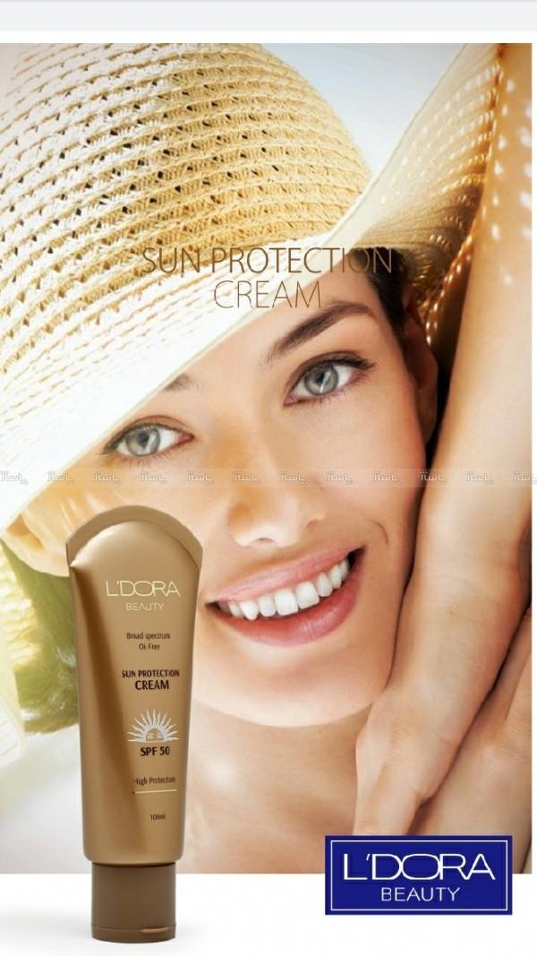 ضد آفتاب بدون رنگ و فاقد چربی SPF50 لدورا-تصویر اصلی
