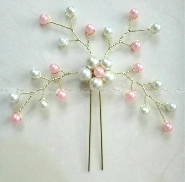 سنجاق شنیون گل مروارید-تصویر اصلی