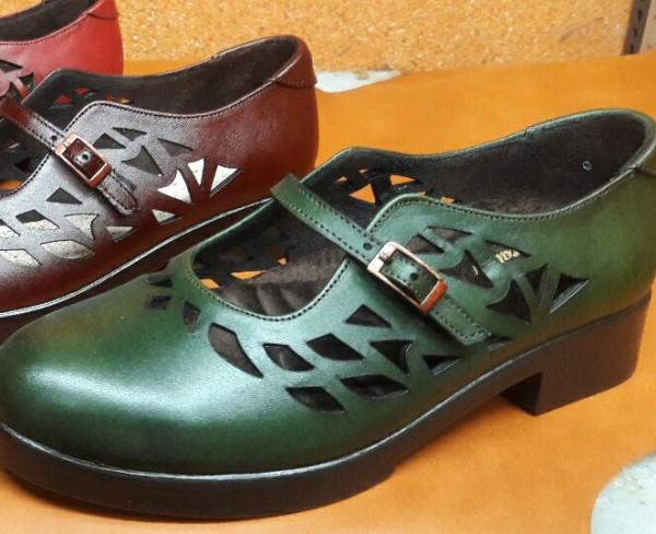 کفش چرم زنانه-تصویر اصلی