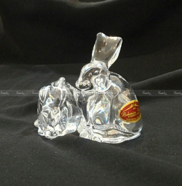 نمکدان کریستالی طرح خرگوش-تصویر اصلی