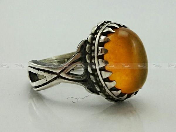 انگشتر جید پرتقالی اصل معدنی-تصویر اصلی