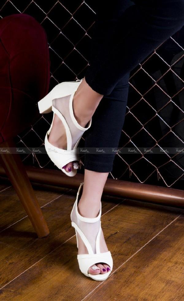 کفش پاشنه دار بغل طوری-تصویر اصلی