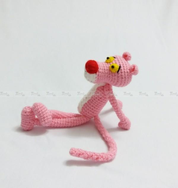 عروسک پلنگ صورتی-تصویر اصلی