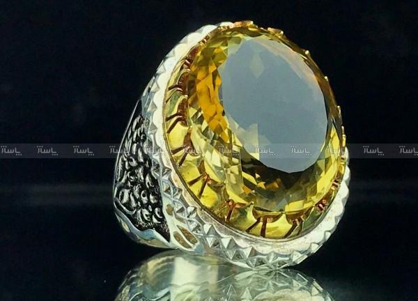 انگشتر سیترین طلایی اصل-تصویر اصلی