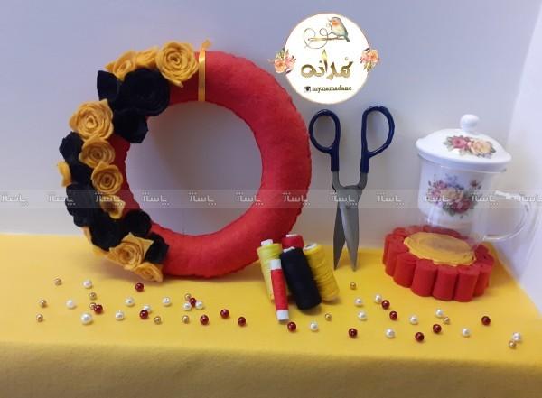 حلقه گل نمدی-تصویر اصلی