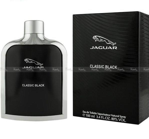 ادو تویلت مردانه جگوار مدل Classic Black حجم 100 میلی لیتر-تصویر اصلی