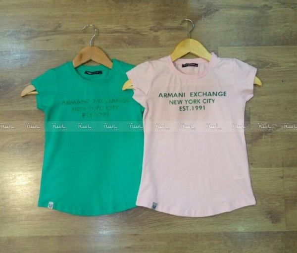 تی شرت دخترانه Armani-تصویر اصلی