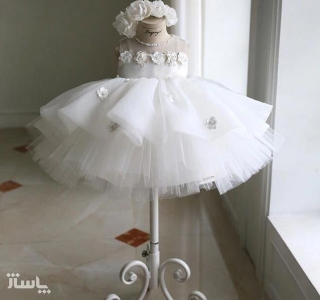 لباس عروس جنس تور-تصویر اصلی
