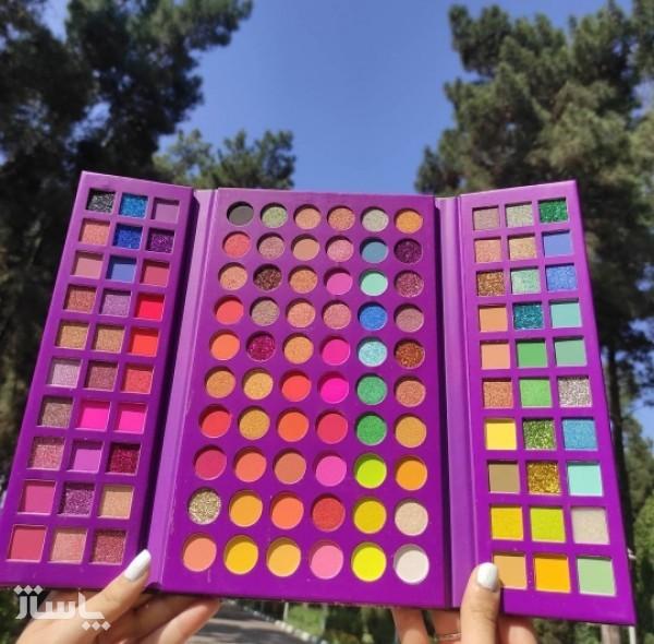 پلت سایه اورجینال 120 رنگ از برند Beauty katie-تصویر اصلی