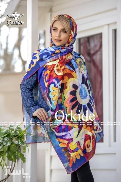 روسری نخ ابریشم گارزا Luxury-تصویر اصلی