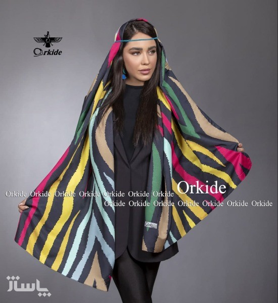 شال نخ ابریشم گارزا Luxury-تصویر اصلی