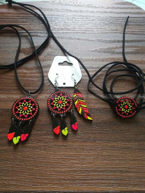 ست گردن بند دستبند گوشواره-تصویر اصلی