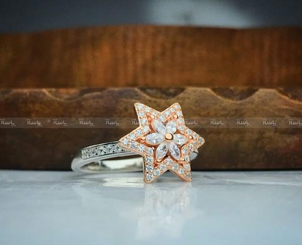 انگشترزیبای جواهری گردون طرح ستاره-تصویر اصلی