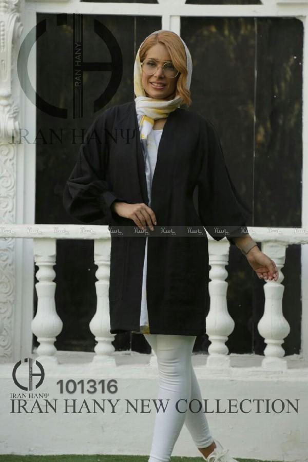 مانتو برنوتی مچ کش دار-تصویر اصلی