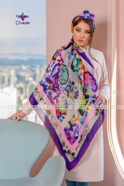 روسری نخی وال ارکیده 118-06-تصویر اصلی