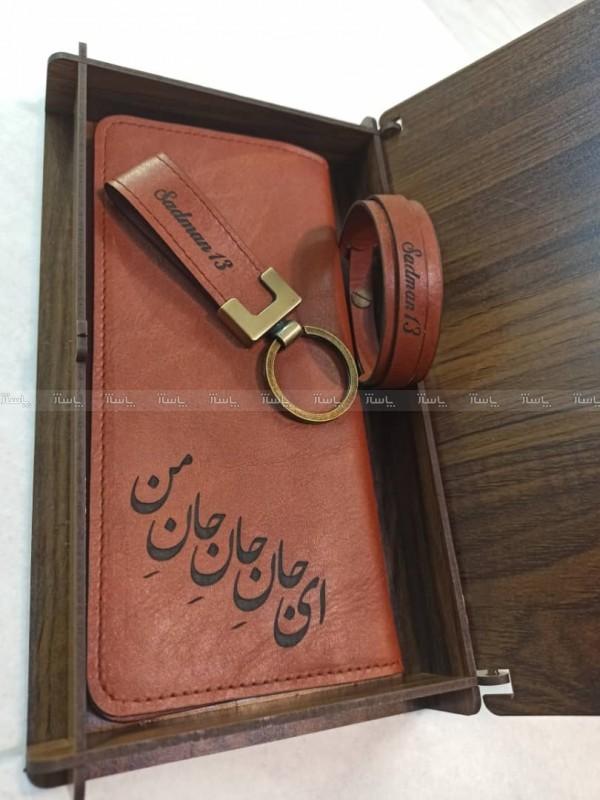 ست کیف پول جان جان و دستبد و جا کلیدی-تصویر اصلی