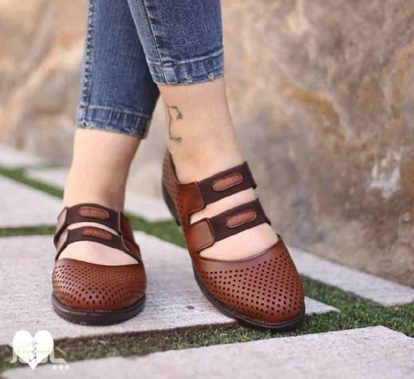 کفش چرم کشدار-تصویر اصلی