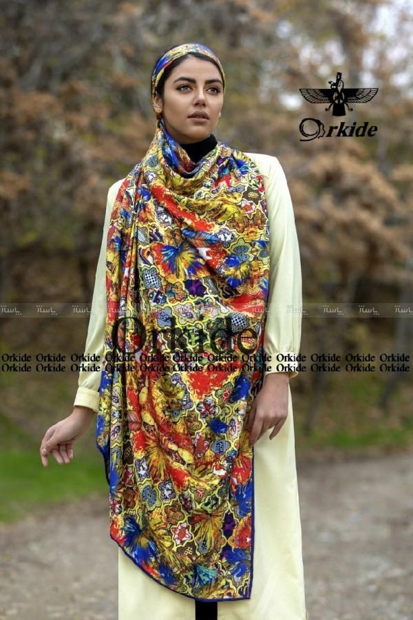 روسری نخی امانوئل پائیزه-تصویر اصلی
