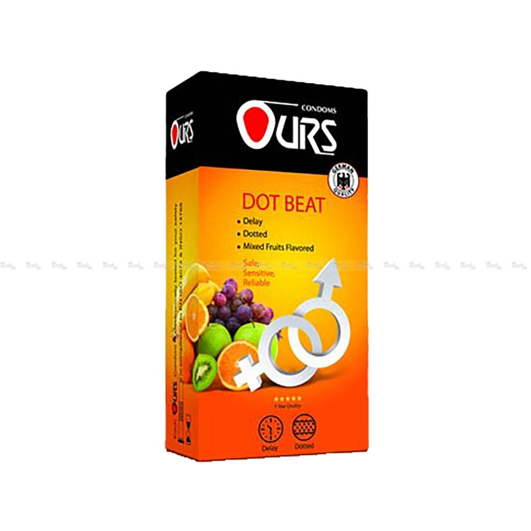 کاندوم خاردار میوه ای اورز 12 عددی Ours-تصویر اصلی