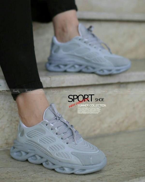 کفش زنانه مدل فشیون طوسی-تصویر اصلی