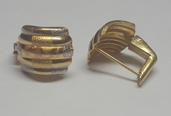 گوشواره طلا ۱۸عیار کم اجرت-تصویر اصلی