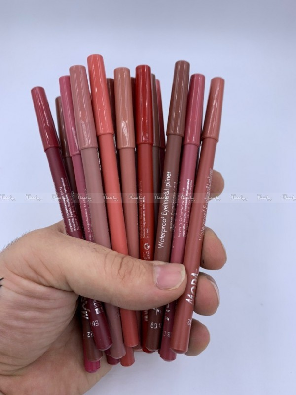 خط لب و رژ مدادی مودا بسته ۱۲ عددی-تصویر اصلی