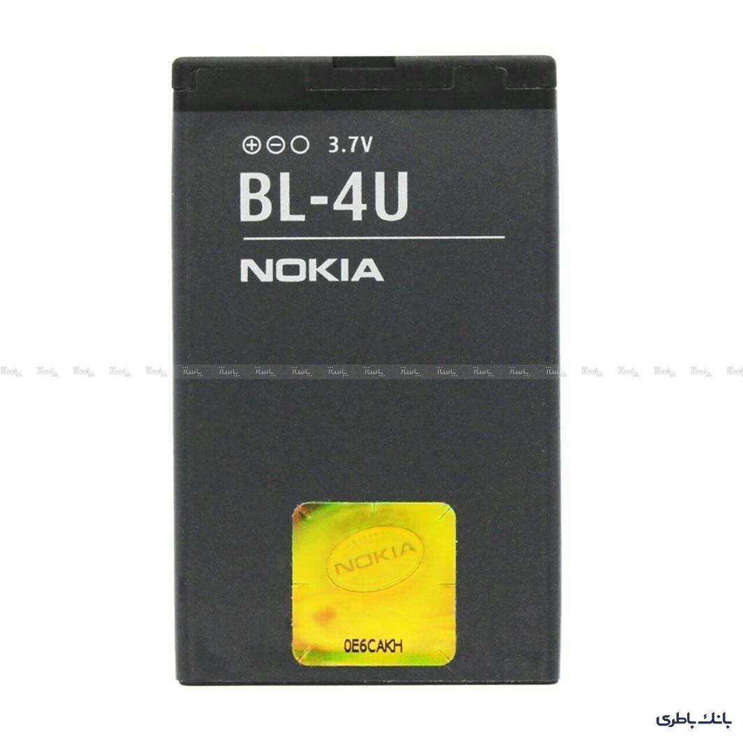 باتری موبایل نوکیا BL-4U-تصویر اصلی