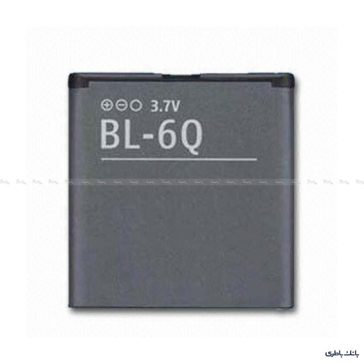 باتری موبایل نوکیا BL-6Q-تصویر اصلی