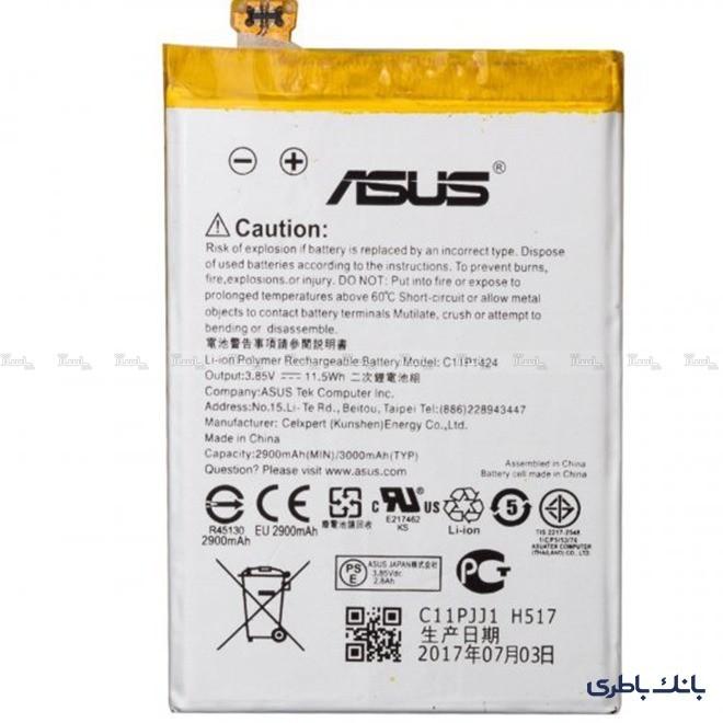 باتری موبایل ایسوس Zenfone 2 با کد فنی C11P1424-تصویر اصلی