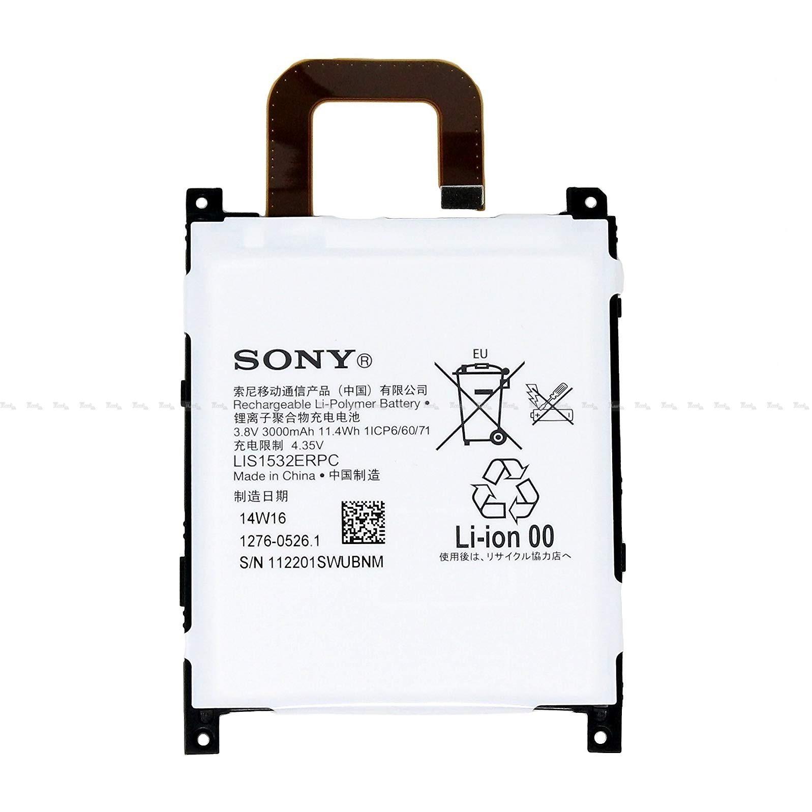 باتری موبایل سونی Xperia Z1 4G با کد فنی LIS1532ERPC-تصویر اصلی