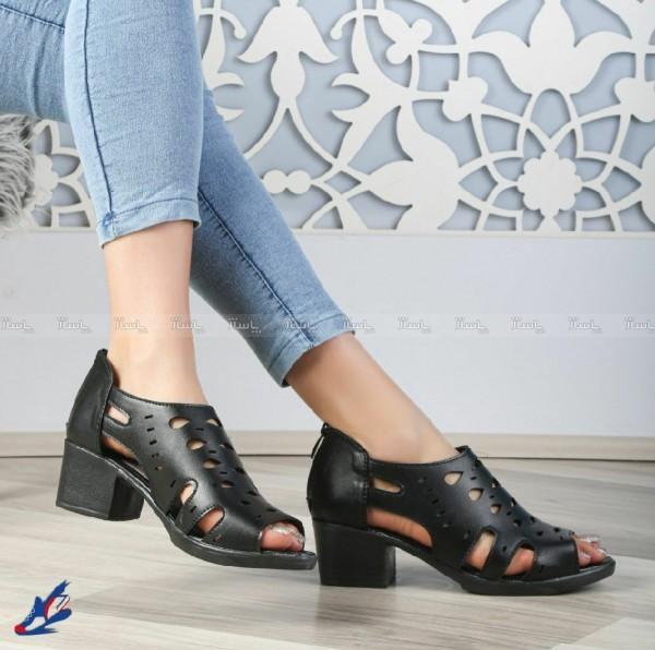 کفش چرم تابستانی زنانه-تصویر اصلی