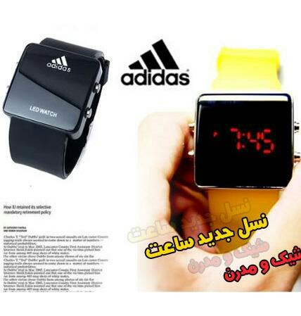 ساعت LED Adidas اصل( ارسال رایگان)-تصویر اصلی