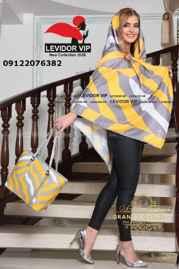 کیف و روسری زرد-تصویر اصلی