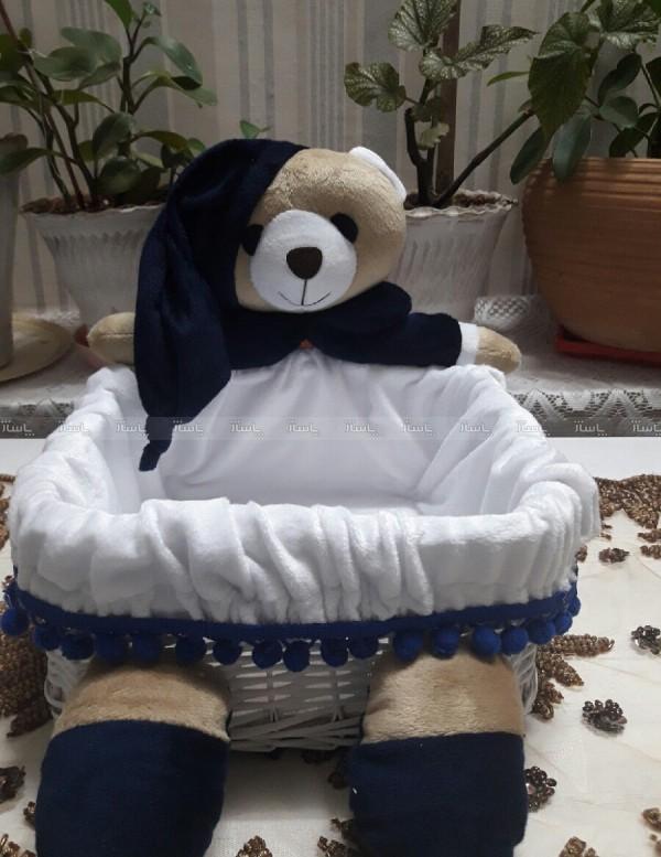 سبد لوسیون مخمل خرس نانان-تصویر اصلی